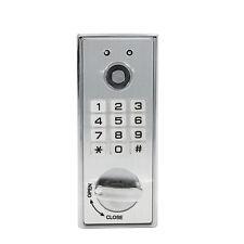 Electric Keyless Numberal Deadbolt Cabinet Door Coded Lock RFID Card Key Lock ES