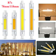 Dimmable 78mm/118mm R7s COB LED Security Flood Light Replaces Halogen Bulb 6/12W