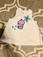 Boutique Pink Chicken (6Y) Ivory Cupcake Top