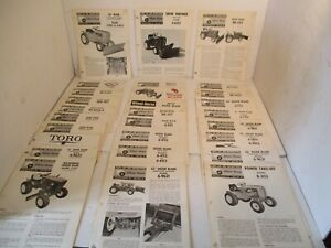 28 - Toro Wheel Horse Tractor Riding Lawn Mower Service Operators Manual  Parts