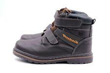 DOCKERS Boots Stiefeletten Damen Gr. 36 UK 3 Braun Leder TOP Kaum getragen