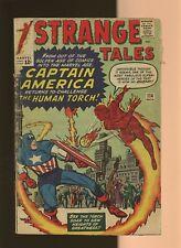Strange Tales 114 GD 1.8 * 1 * Dr. Strange! Human Torch! Jack Kirby! Steve Ditko