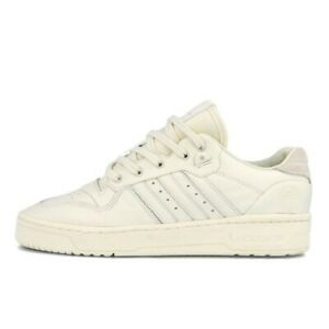 Adidas Rivalry Low FV4432 Men's Off White NEW IN BOX Classic Retro Shoes
