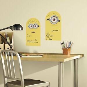 RoomMates Minion Dry Erase Peel & Stick Wall Decals 925875