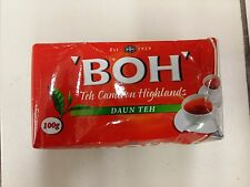 BOH PLANTATION TEA LEAVES 100g PACK CAMERON HIGHLANDS AROMATIC FRESH - FS + TRCK