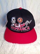 100% AUTHENTIC STARTER MISHKA ENGINERED TO DESTROY SNAP BACK HAT (BASKETBALL)