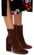 New Stuart Weitzman Moxanne Penny Chivel Suede Boots Women's Size 9.5M $585