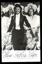 Lisa Lesco Netters Autogrammkarte Original Signiert ## BC 20943