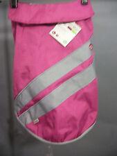 Petco Good2Go Nylon Reflective Dog Sport Jacket Coat Pink L Large Gray Good 2 Go