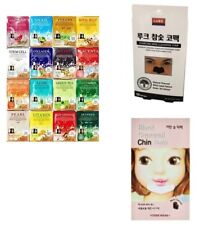 30pcs Korean Essence Face Mask Sheet Moisture Beauty Mask Pack Skin Care Set -Nu