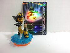 Skylanders Giants Lightcore Legendary Chill Figure Pack (Loose with card)