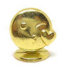 Monopoly Gold Blowing Kiss Emoji Token Metal Mover Piece