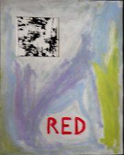 Chrys LEM - RED - New York Gestual Paint