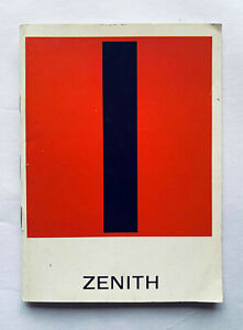 Vintage Zenith Booklet Catalog from 60's - 33 pages - Spanish