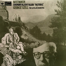 """BEETHOVEN - Symphony No. 6 In F Major """"Pastoral"""" (Cleveland Orchestra/Szell) LP"""