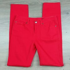 Tommy Hilfiger Rome Slim Women's Jeans NWT RPP$149 Tomato Size 6US (G17)