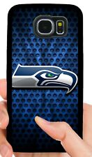 SEATTLE SEAHAWKS PHONE CASE FOR SAMSUNG GALAXY & NOTE S5 S6 S7 EDGE S8 S9 S10 E