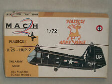 Mach 2 1/72 Scale Piasecki H 25 - HUP-2 Helicopter