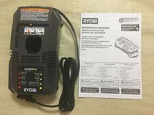 New Ryobi P118 18 Volt 18V Dual Chemistry Intelliport Charger