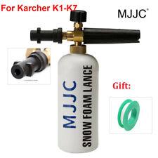 MJJC Snow Foam Lance Soap Bottle High Pressure Washers Gun Jet for Karcher K1-K7
