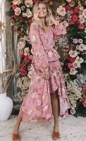 Spell Designs Rosa Wrap Skirt - Size S 🌸🍃