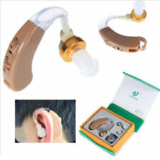 Digital Hearing Aid Aids Kit Behind the Ear BTE Sound Voice Amplifier