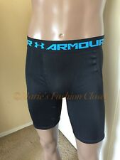 """NWT S 28-29"""" Under Armour HeatGear Ventilated Compression Moisture Wick Shorts"""