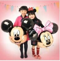 """25"""" Mickey/Minnie Mouse Foil Balloons Kids 1st Happy Birthday Party fun Baloons"""