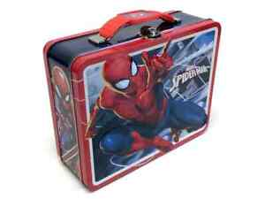 Marvel Spider-Man Tin Kid's Lunch Box - 7.5 x 6 In