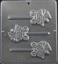 Baby in Carriage Lollipop Chocolate Candy Mold Baby Shower  646 NEW