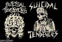 SUICIDAL TENDENCIES cd lgo OG FLIP SKULL FLAMES Official SHIRT MED new