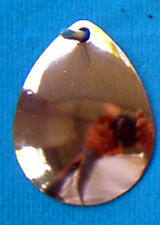 Colorado #5 Copper Spinner Blades Smooth Walleye Candy (12) Blades