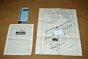 Chicago Antique 1929 Original Skokie Ridge Developers Subdivision MapGlencoe IL