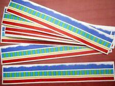 Mrs Grossmans Vellum DESIGN LINES Border Sticker Lot 10 Sheets SHEER STRIPES