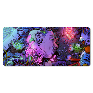 CYBERPUNK Desk Mat / Mouse Pad GAMING LARGE - (79cm x 29.5cm x 2mm)