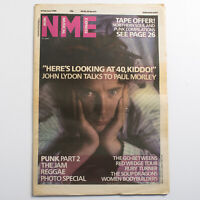 NME magazine 8 February 1986 John Lydon cover The Jam Soup Dragons Ruby Turner