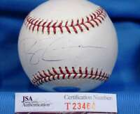 RYAN ZIMMERMAN SigneD JSA COA Major League OML Baseball Authentic Autographed