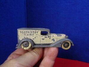 Vintage Metal Toy MILK TRUCK