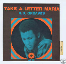 45 RPM SP R.B.GREAVES TAKE A LETTER MARIA ATCO