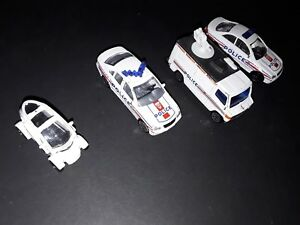 Lot X 4 - voiture / camion police / CRS France