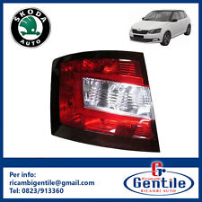 SKODA FABIA 2015 UNIT HEADLIGHT STOP TAIL LIGHT LEFT L DRIVER'S SIDE