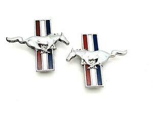 FORD Mustang - SEITENEMBLEM - PaaR - Original - USA - Vintage!