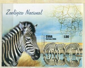 FAUNA_1098 2005 zebras animals SHEET MNH Combined payments & shipping