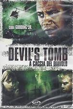 Dvd **DEVIL'S TOMB ♦ A CACCIA DEL DIAVOLO** con Cuba gooding Jr. nuovo 2009