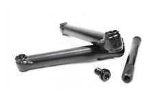 CULT CREW CRANKS 165 MM BLACK BMX BIKE BIKES 165MM 19MM RHD LHD PROFILE