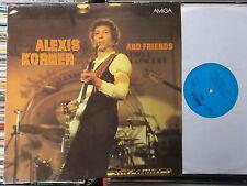 ALEXIS KORNER DDR AMIGA LP: AND FRIENDS (855873)