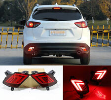 LED Car Rear Fog Light Trunk Bumper Lamp Len Reflector For Mazda CX-5 13-18
