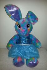 Lot BABW Build A Bear stuffed plush color pop tye dye bunny rabbit dress