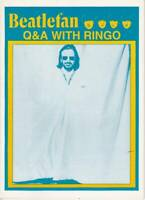 【Book】Beatles  Q&A With Ringo All Star band 1995  Beatlefan 34page