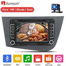 "7"" 2 Din Coche Radio para Seat Leon 2005-2011 de GPS POI RDS CD DVD Bluetooth"